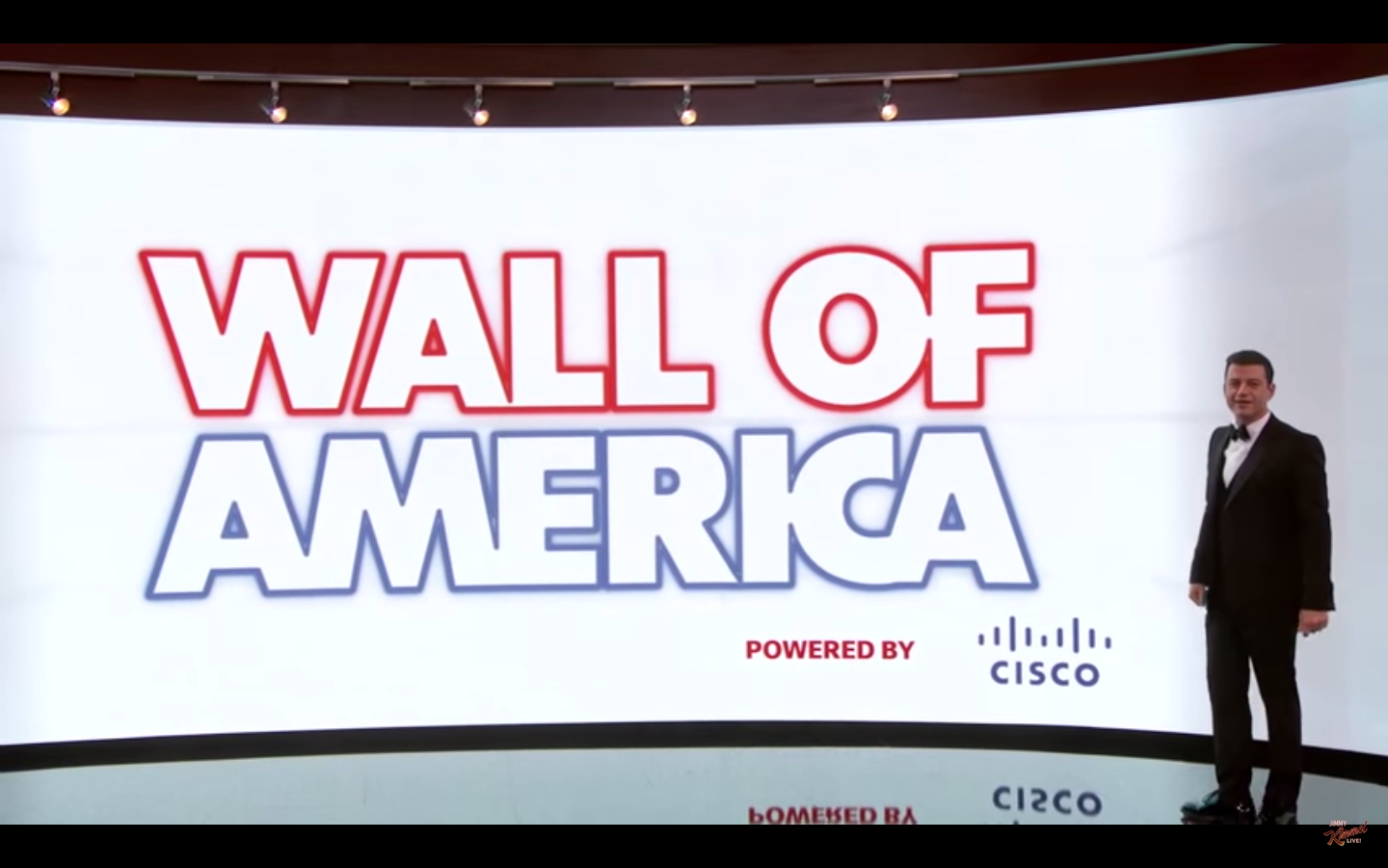 Jimmy Kimmel Debuts Wall of America