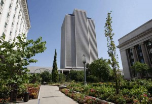 Office Building of LDS Church in downtown Salt Lake City