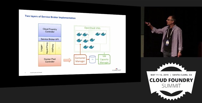 Comcast Use Case: Two layers of Service Broker implementation