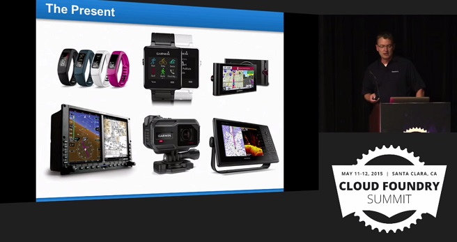 Garmin use case for Cloud Foundry: Company's present