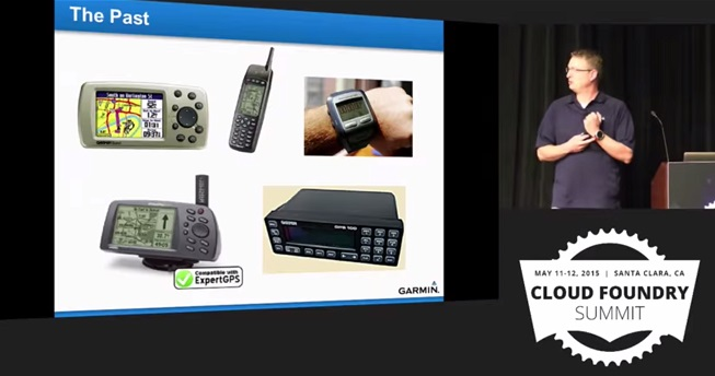 Garmin use case for Cloud Foundry: Company's past