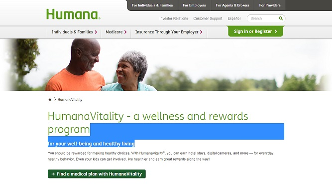 Humana use case for Cloud Foundry: The Vitality project
