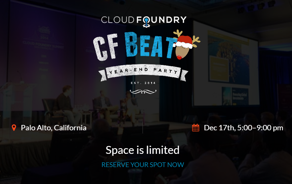 Cloud Foundry Beat: Year-End Party and Holiday Mixer