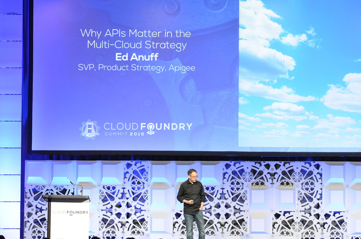 Cloud Foundry Summit 2016 Keynote Ed Anuff CF