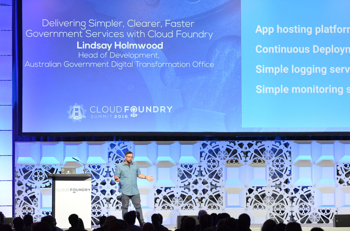 Cloud Foundry Summit 2016 Keynote Lindsay Holmwood CF