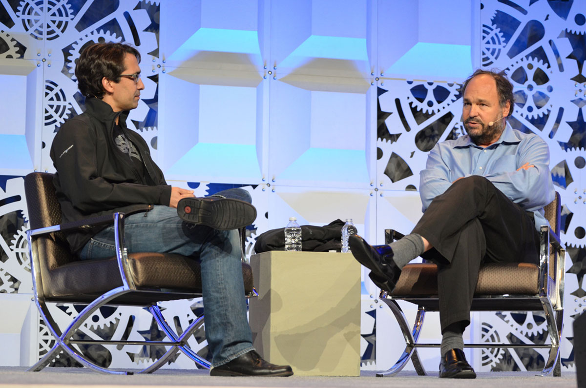 Cloud Foundry Summit 2016 Keynote Sam Ramji Paul Maritz CF