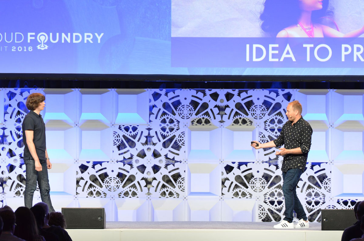 Cloud Foundry Summit 2016 Keynote Simon Johansson and Daniel Otte CF