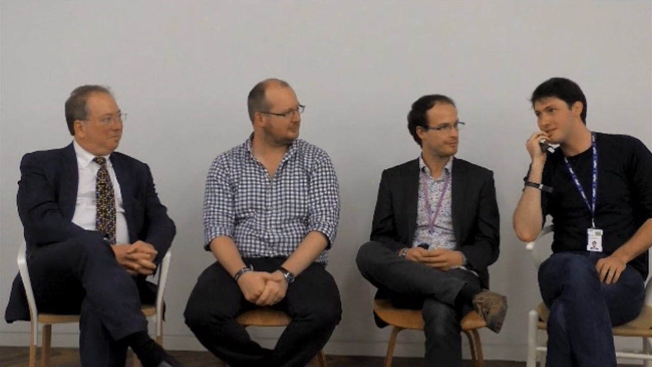 Hyperledger Blockchain London Michael Mainelli Joseph Pindar Simon StoneTom Appleyard 4