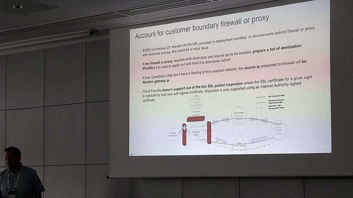 cfsummit cloud foundry summit europe OpenStack Tyler Britten IBM