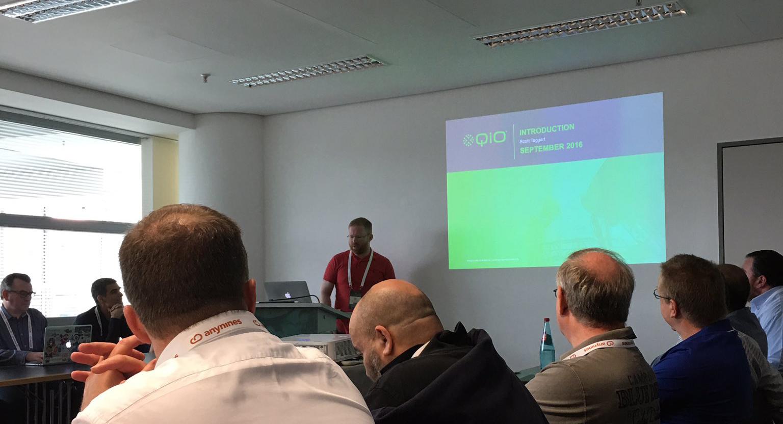 cfsummit cloud foundry summit europe QiO Scott Taggart 2