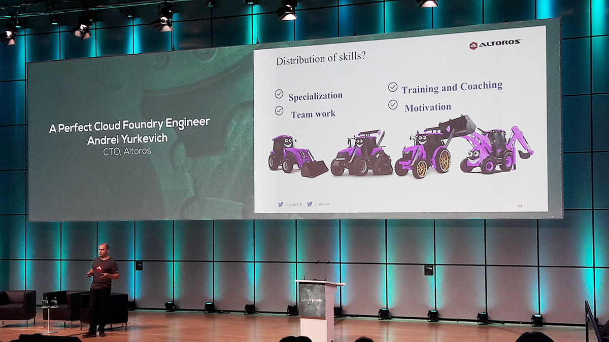 cloud-foundry-summit-europe-2016-altoros-andrei-yurkevick-a-perfect-cf-engineer