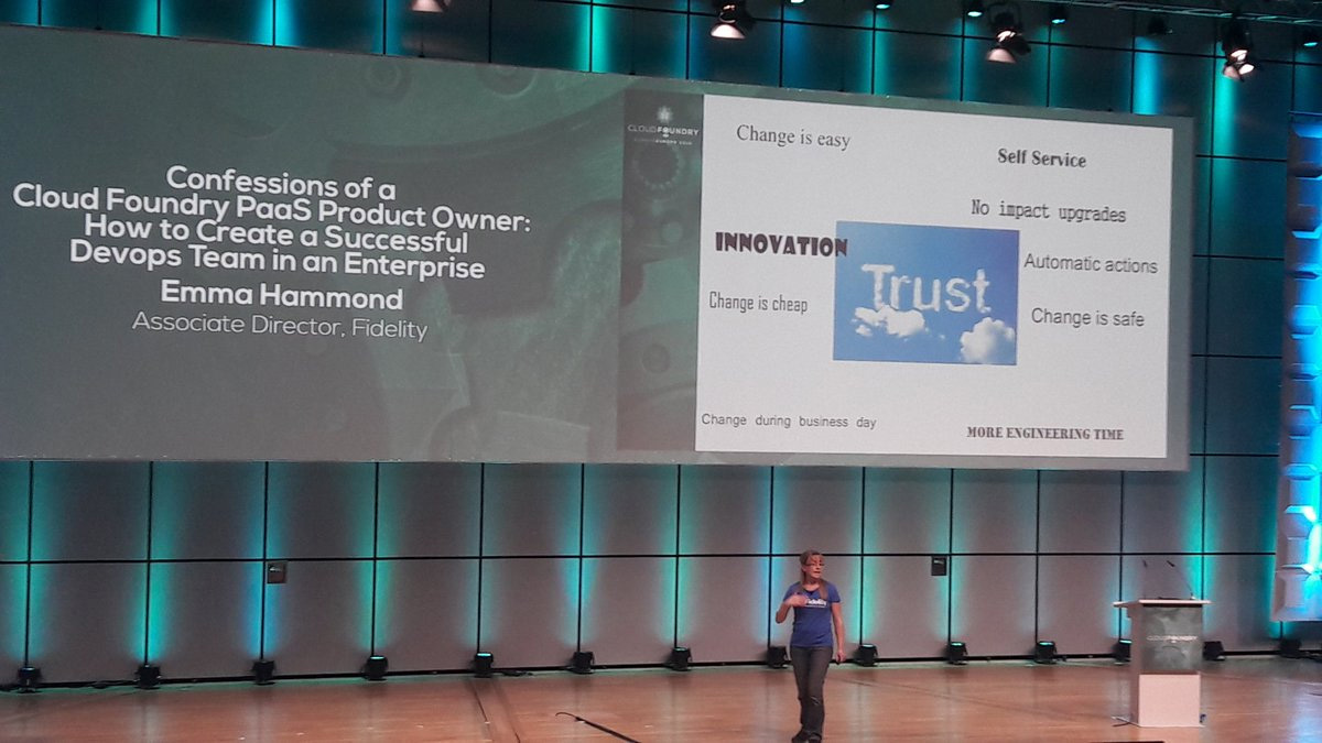 cloud foundry summit europe 2016 emma hammond