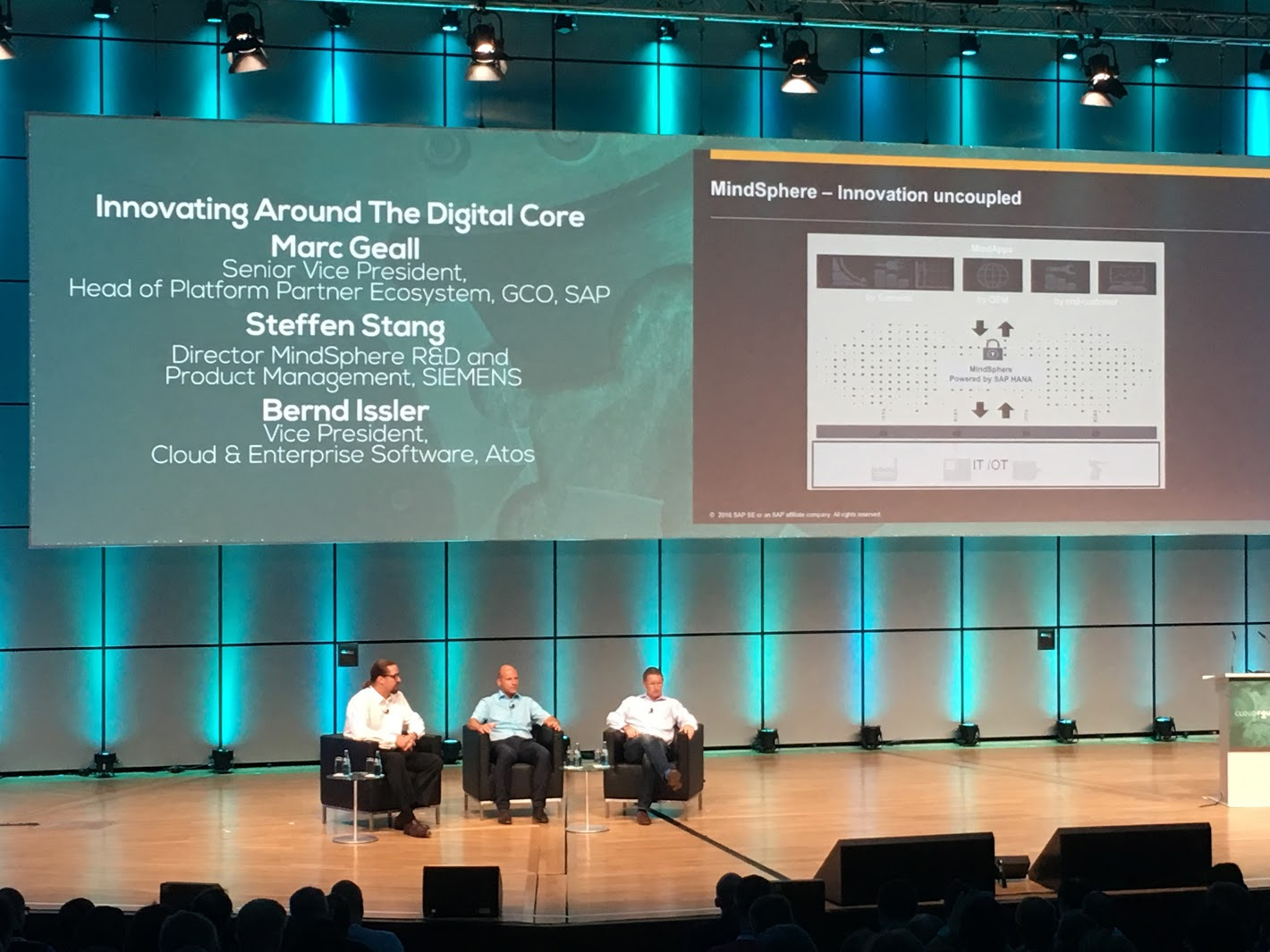 cloud foundry summit europe 2016 marc geall steffen stang bernd issler