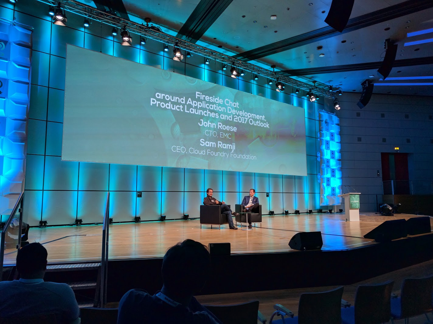 cloud foundry summit europe 2016 sam ramji john roese
