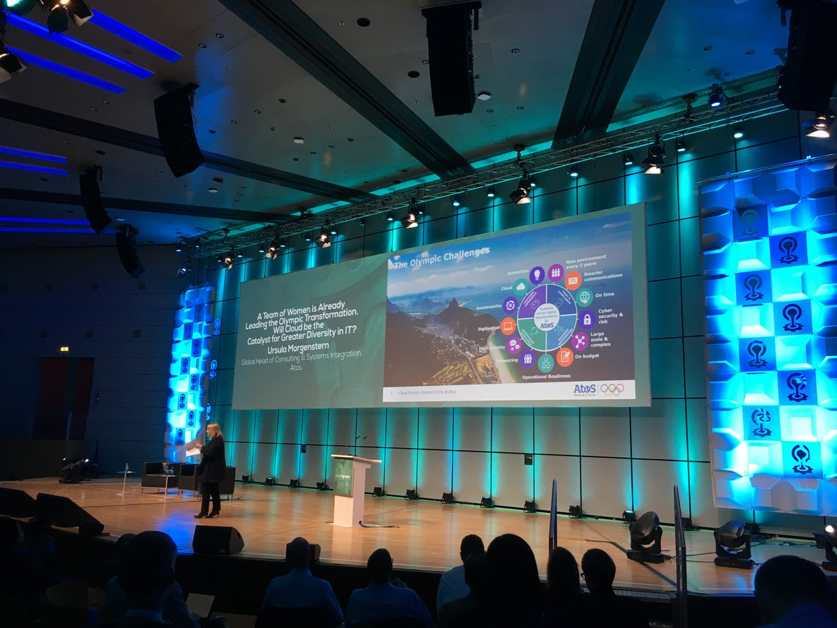 cloud foundry summit europe 2016 ursula morgenstern