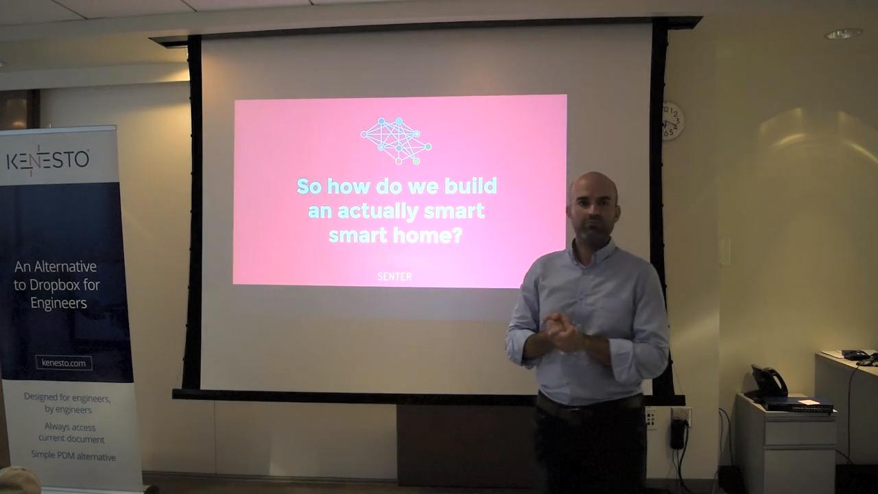 Predix IoT healthcare Sean Lorenz building smart home