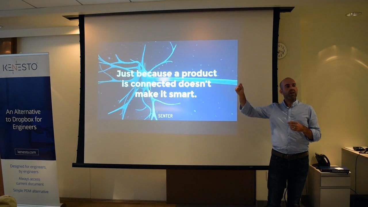 Predix IoT healthcare Sean Lorenz connected is not smart