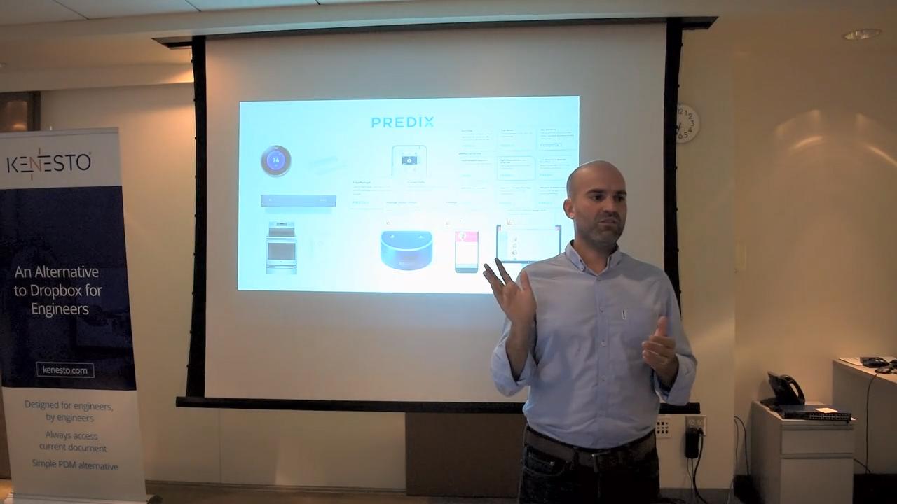 Predix IoT healthcare Sean Lorenz services