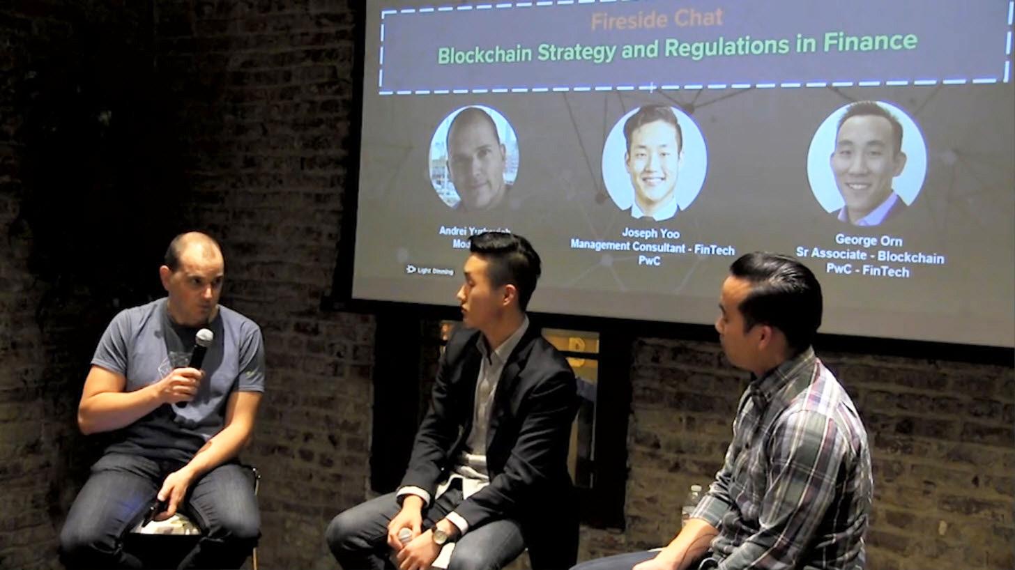 Blockchain Hyperledger SF Joseph Yoo George Orn Identity A