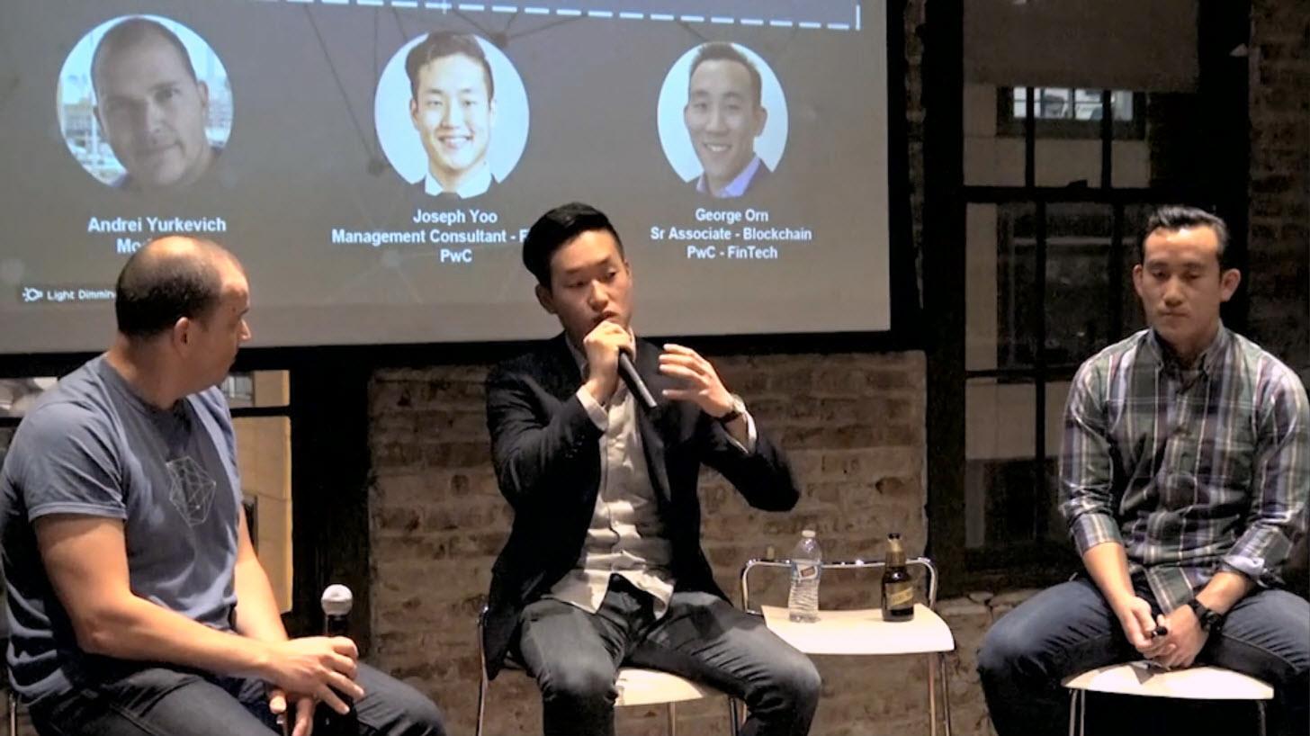 Blockchain Hyperledger SF Joseph Yoo George Orn Identity B