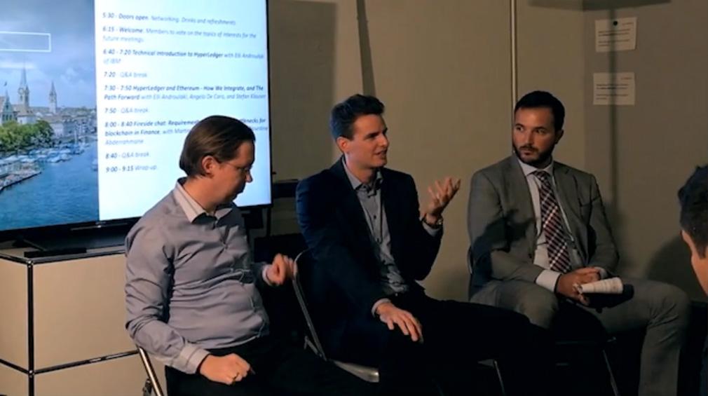 Hyperledger Blockchain Finance Martin Ploom Peter Ivankay Nourdine Abderrahmane 2