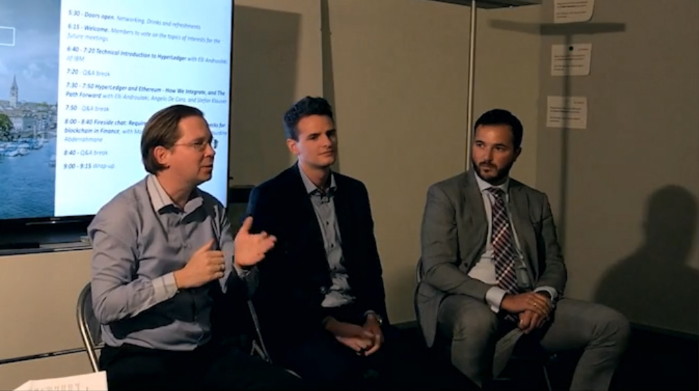 Hyperledger Blockchain Finance Martin Ploom Peter Ivankay Nourdine Abderrahmane 3