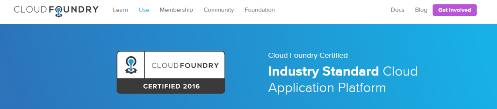 Cloud Foundry Certified Providers