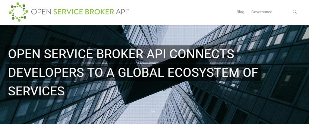 Open-Service-Broker-API-v1