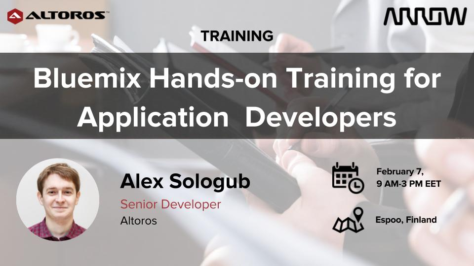 Bluemix Hands-on Training for Application  Developers