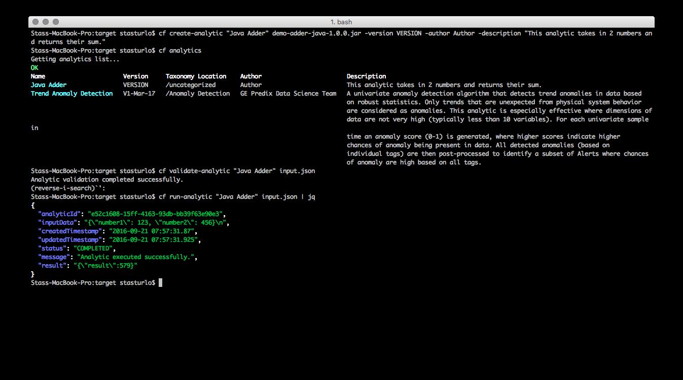 cf-cli-plugin-for-predix-analytics-catalog