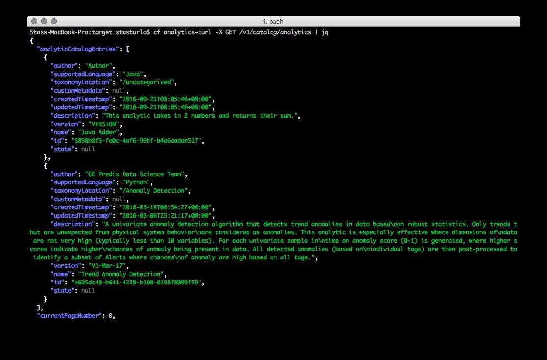cf-cli-plugin-predix-analytics-catalog