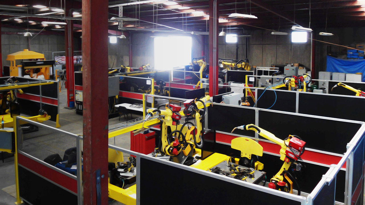 industry 4.0 Mexico Automated Robots v2