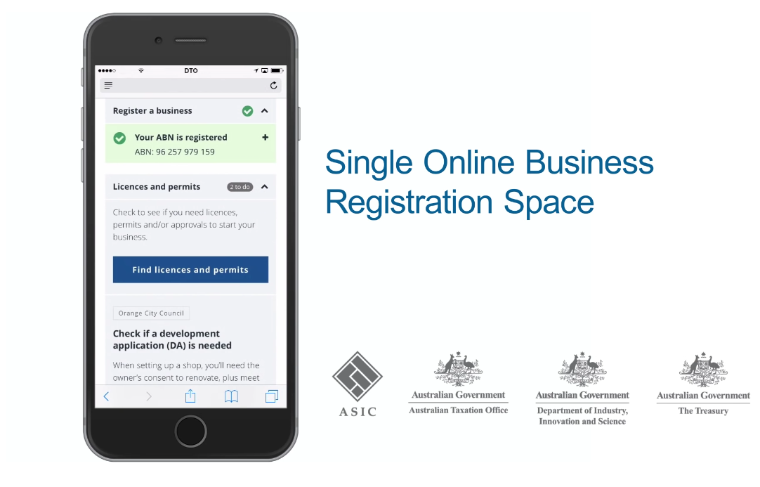 Cloud Foundry Summit Australian Government Online Registration Space