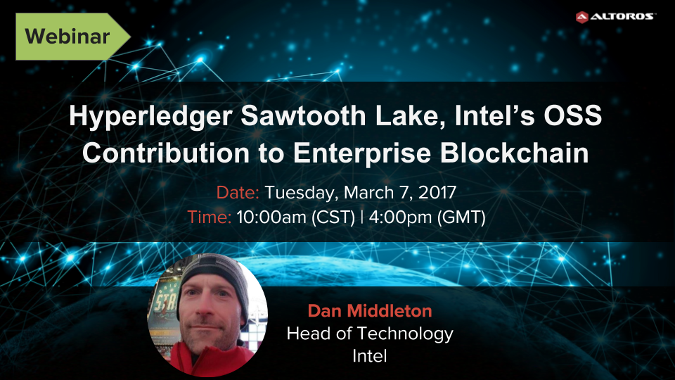 Hyperledger Sawtooth Lake webinar, Mar 7 (1)