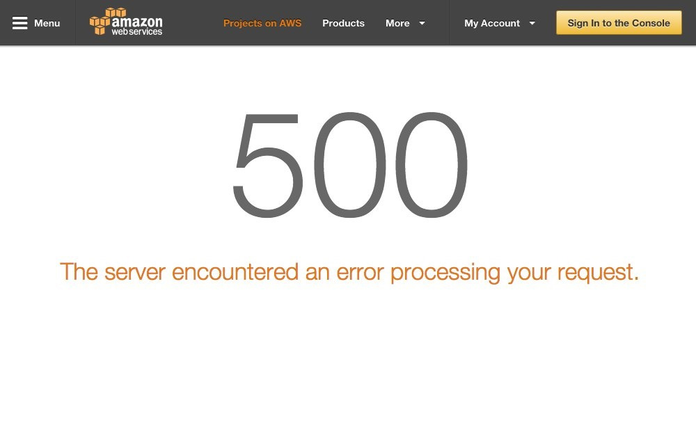Amazon AWS Cloud Foundry Outage Web Service Down v2