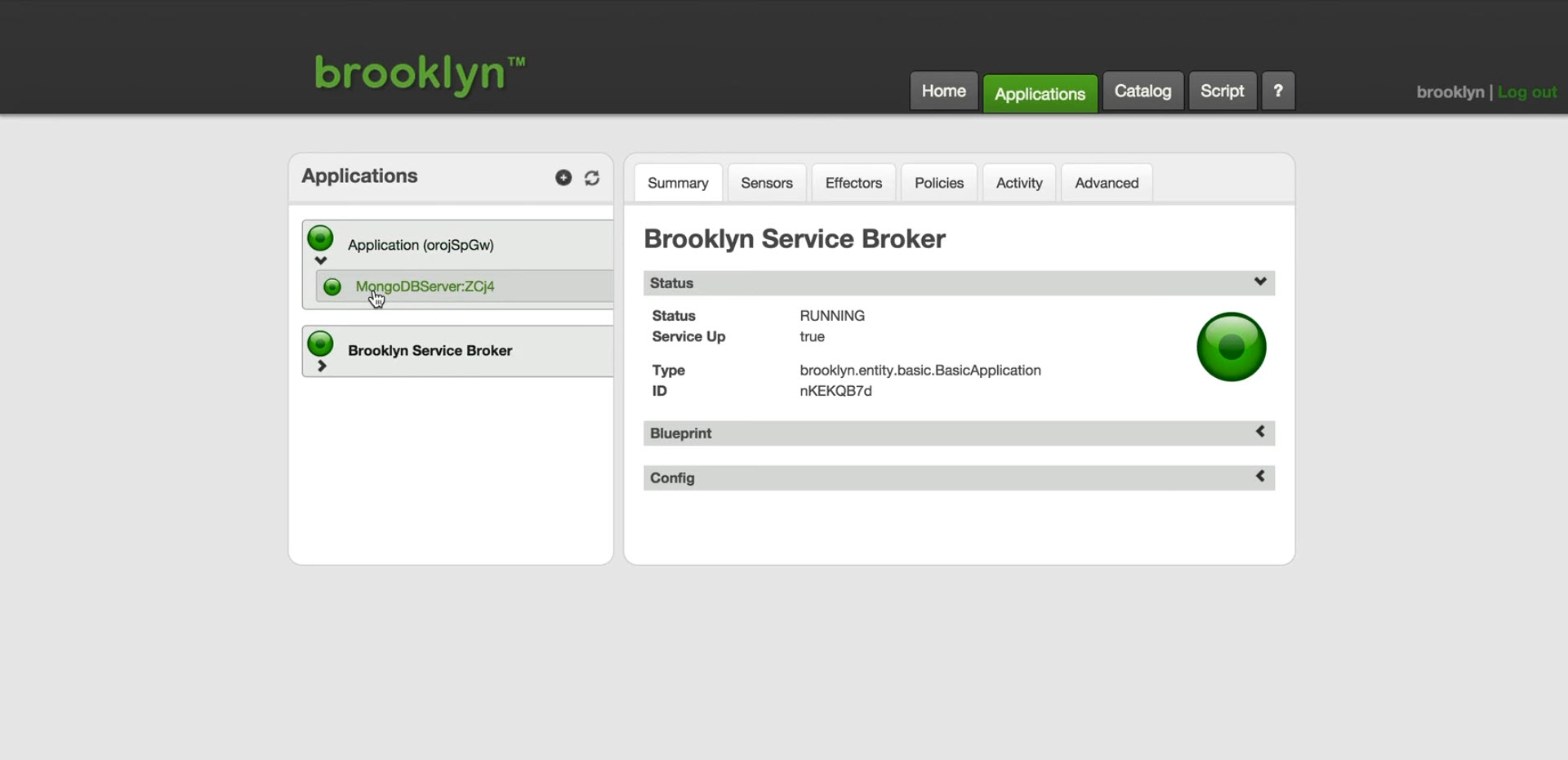Cloud Foundry brooklyn service broker