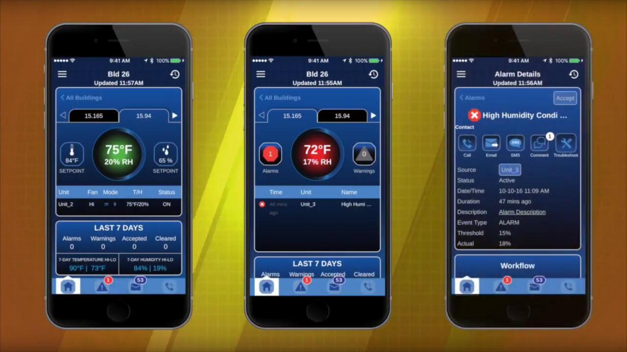 Waygum Predix Mobile Industrial IoT Vertiv Liebert iCOM CMS edge computing