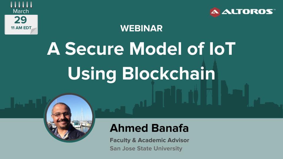 Web March 29- IoT Blockchain