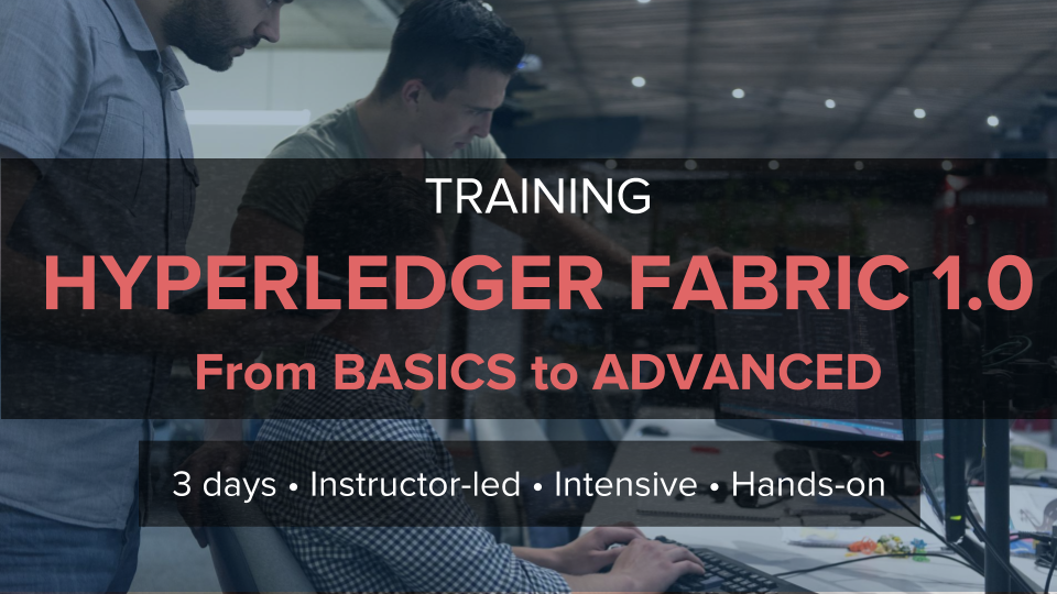Hyperledger Fabric Blockchain Training Altoros