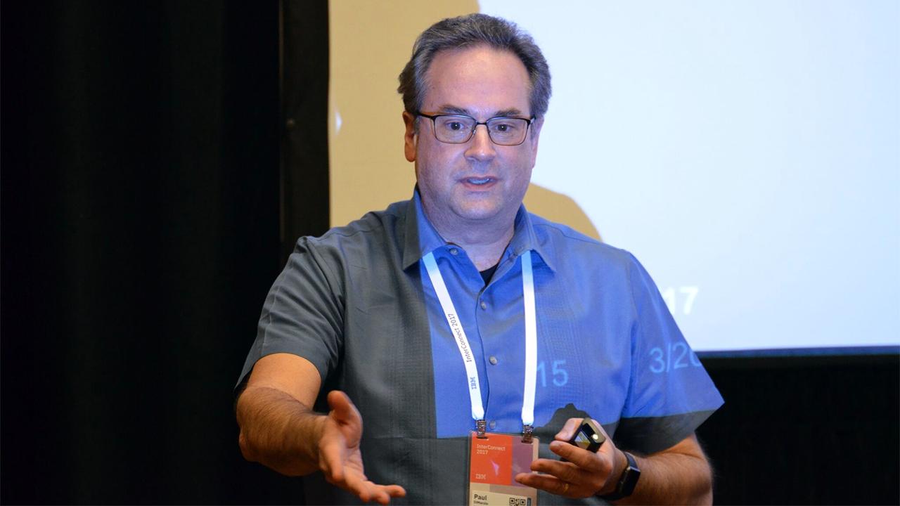 IBM Blockchain Hyperledger Fabric InterConnect Security Paul DiMarzio