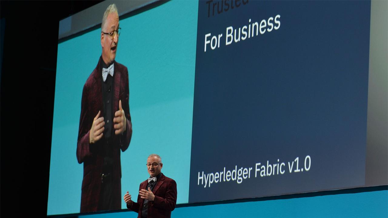 IBM InterConnect Blockchain Hyperledger Fabric Jerry Cuomo