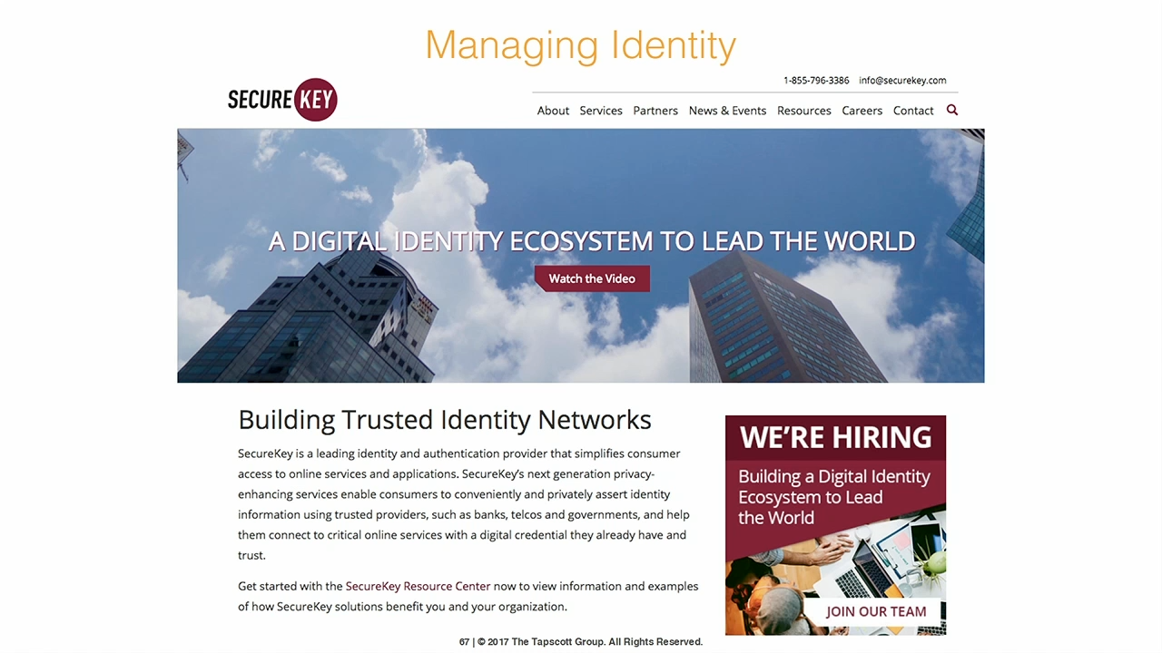 IBM InterConnect Dan Tapscott Blockchain Next Generation Internet big data identity privacy