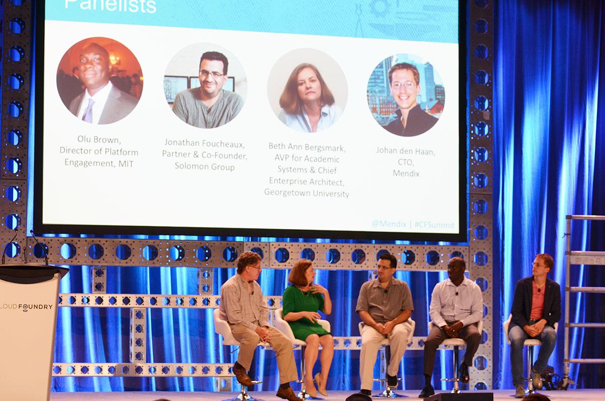 cloud-foundry-summit-2017-panelists-olu-brown-jonathan-foucheaux-beth-ann-bergsmark-johan-den-haan-v11