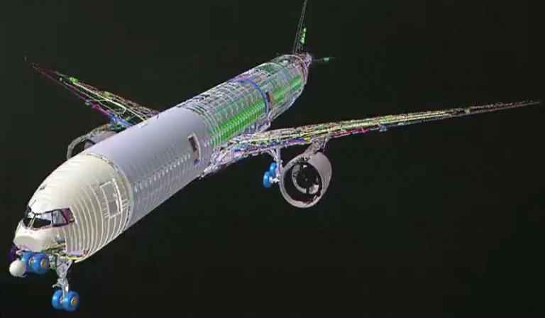 Digital Twins IIoT Airbus model