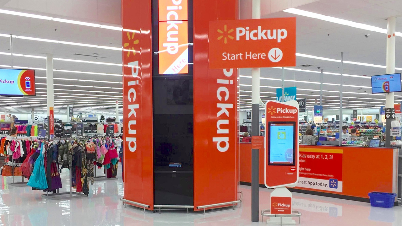 Blockchain  Walmart Pickup Tower