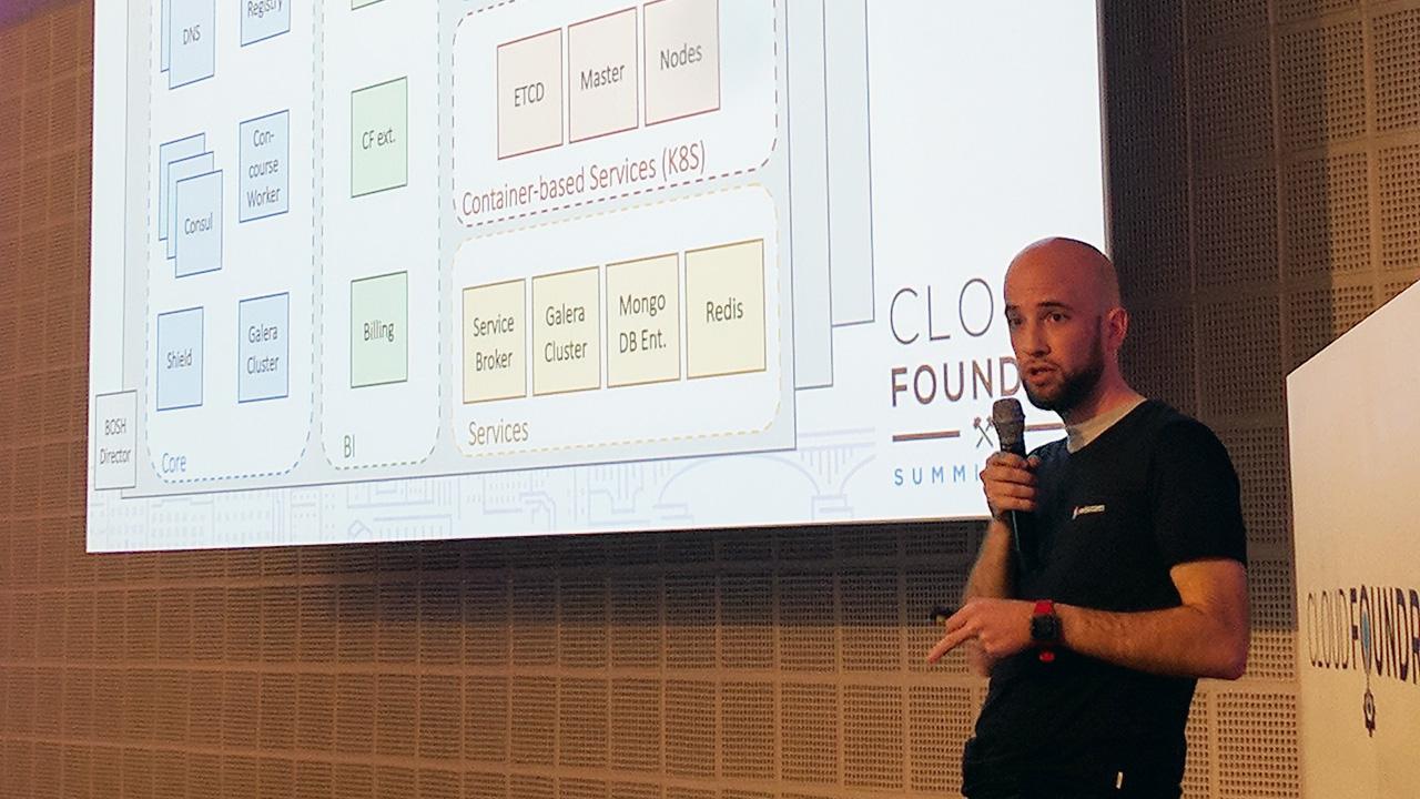 Cloud Foundry CF Summit Europe 2017 Fabio Berchtold