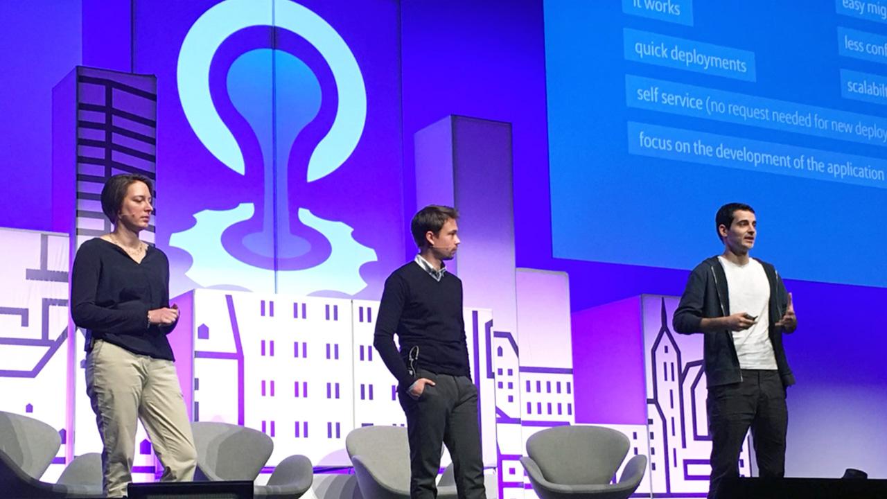 Cloud Foundry CF Summit Europe 2017 Sarah Heldt Denis Kostic Simon Neusser v2