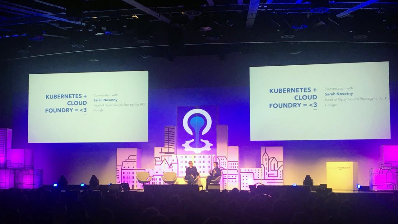 Cloud Foundry CF Summit Europe 2017 Sarah Novotny