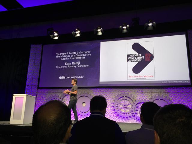 Cloud Foundry Summit: Keynote by Sam Ramji