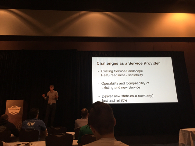 CF Summit Session: Service Cloud Foundry (Challenges as a Service Provider)